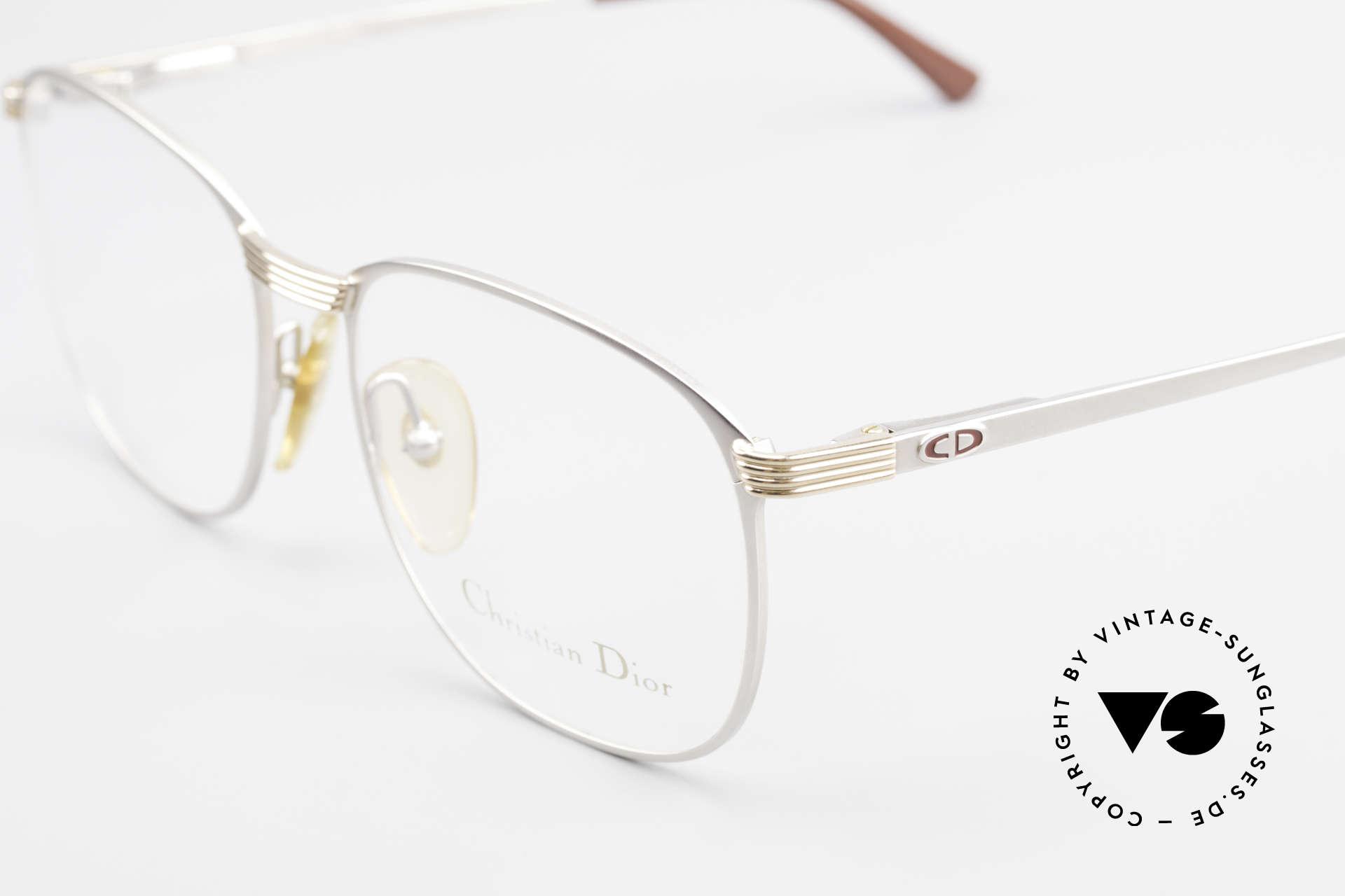Christian Dior 2721 80er Titanium Fassung Herren, ungetragen (wie alle unsere C. Dior Designer-Brillen), Passend für Herren