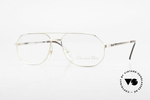 Christian Dior 2685 Klassische Herrenfassung 80er Details