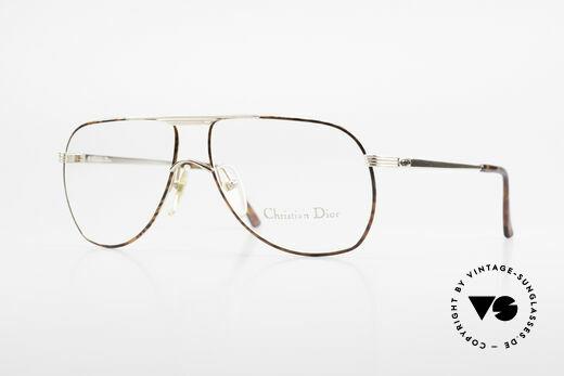 Christian Dior 2553 Vintage Brille Aviator Style Details