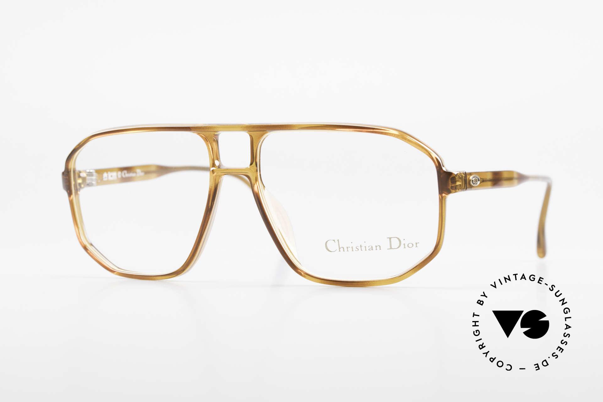 Christian Dior 2485 90er Vintage Herrenbrille, vintage Christian Dior Brille aus dem Jahre 1990, Passend für Herren