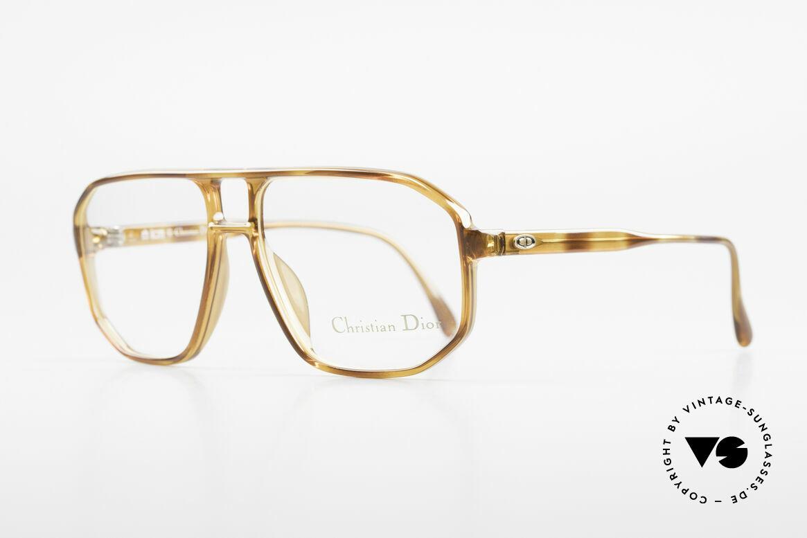 Christian Dior 2485 90er Vintage Herrenbrille, hoher Tragekomfort dank leichtem Optyl-Rahmen, Passend für Herren