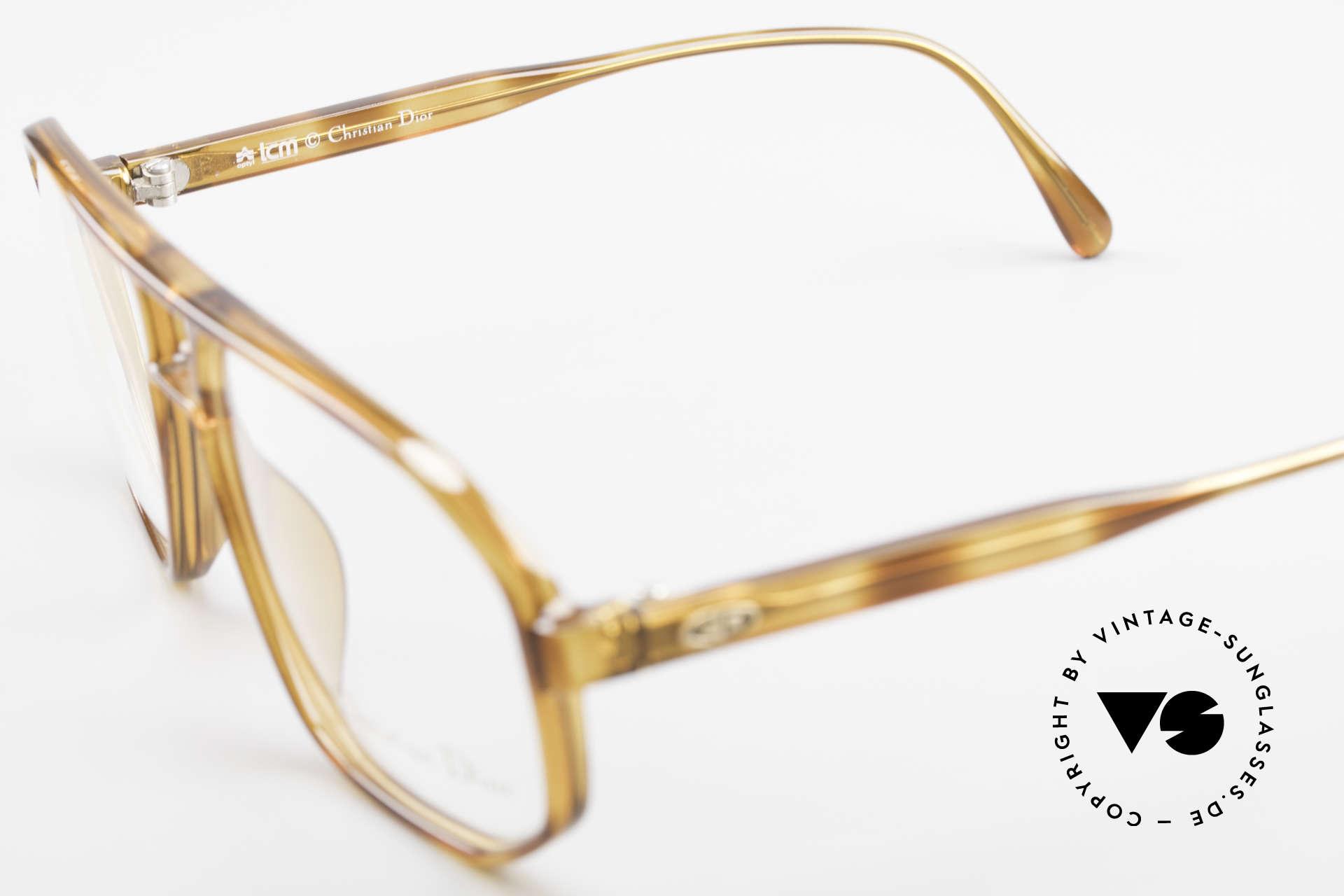 Christian Dior 2485 90er Vintage Herrenbrille, Fasssung (SMALL Gr. 56/14) ist beliebig verglasbar, Passend für Herren