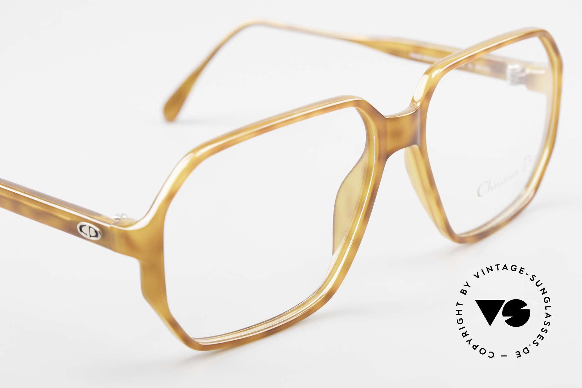 Christian Dior 2533 Optyl Vintage Herrenbrille, KEINE Retrobrille, ein 30 Jahres altes ORIGINAL, Passend für Herren