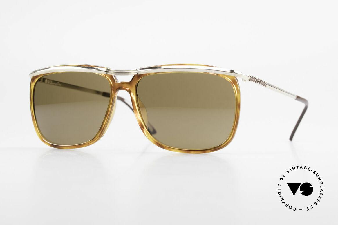 Christian Dior 2698 Alte 90er Herrensonnenbrille, ausdrucksstarke vintage Sonnenbrille von Dior, Passend für Herren