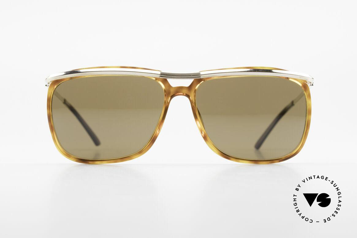 Christian Dior 2698 Alte 90er Herrensonnenbrille, elegante Kombination von Materialien & Farbe, Passend für Herren