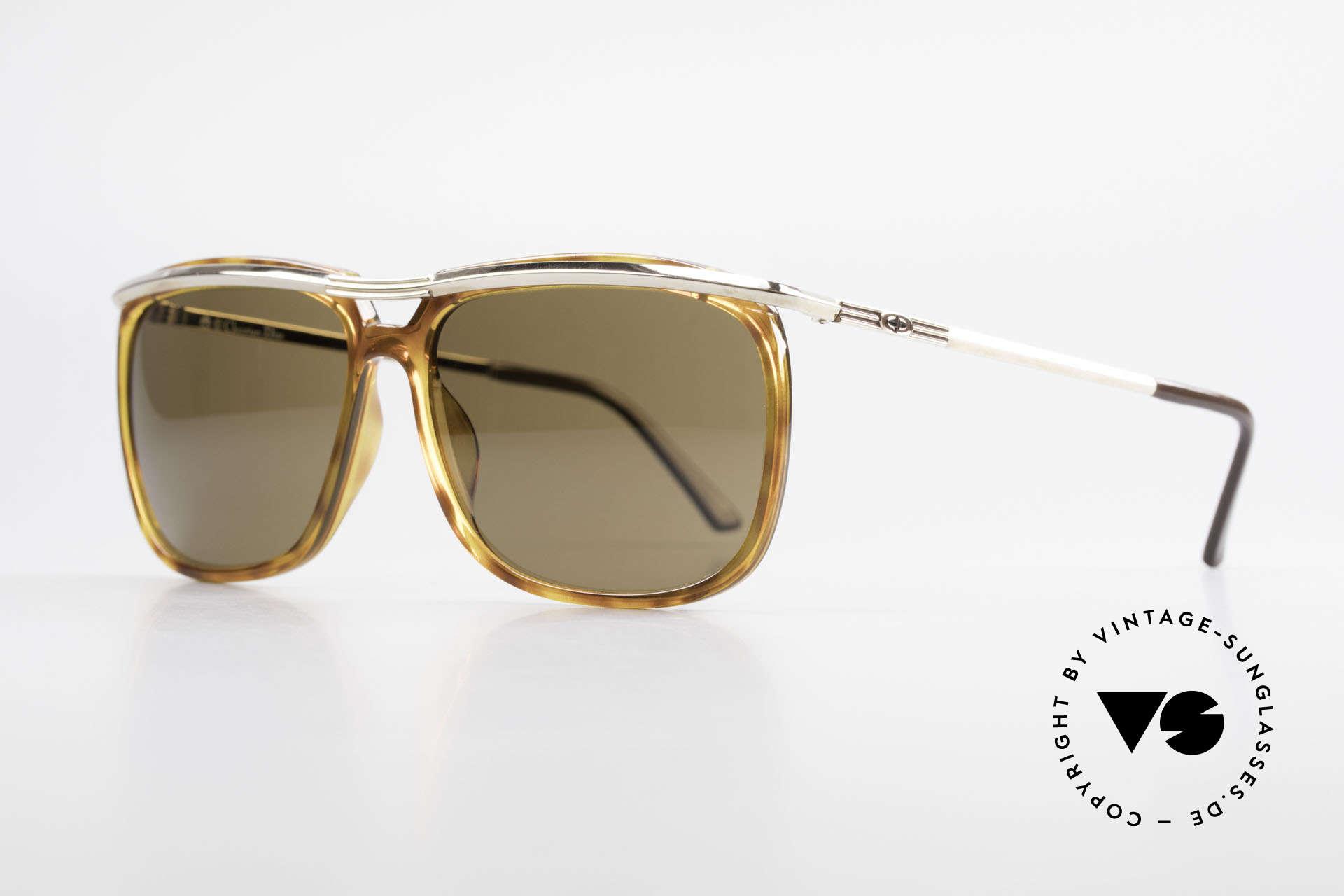 Christian Dior 2698 Alte 90er Herrensonnenbrille, hergestellt um 1990 in Deutschland, Top-Qualität, Passend für Herren