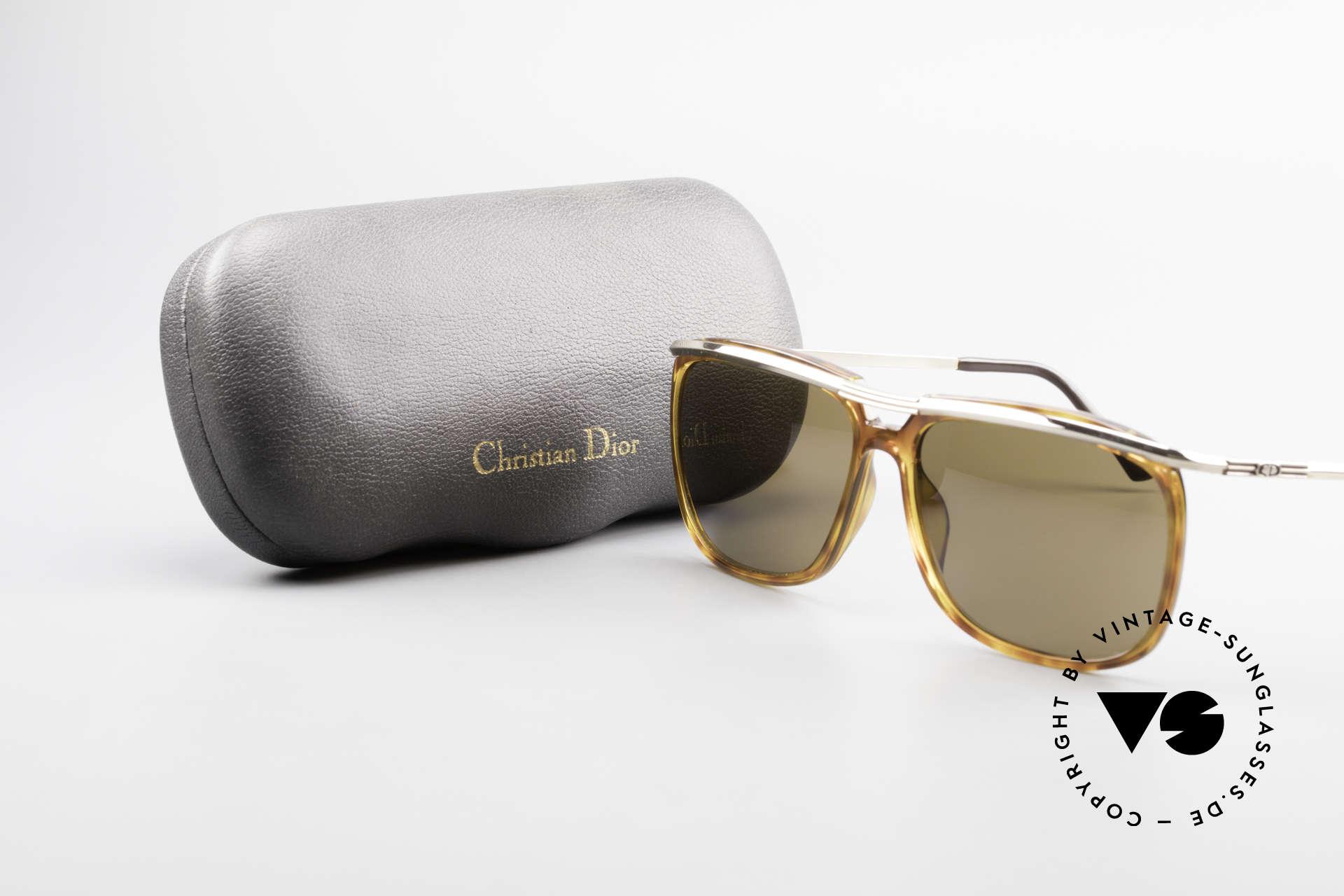 Christian Dior 2698 Alte 90er Herrensonnenbrille, Größe: large, Passend für Herren