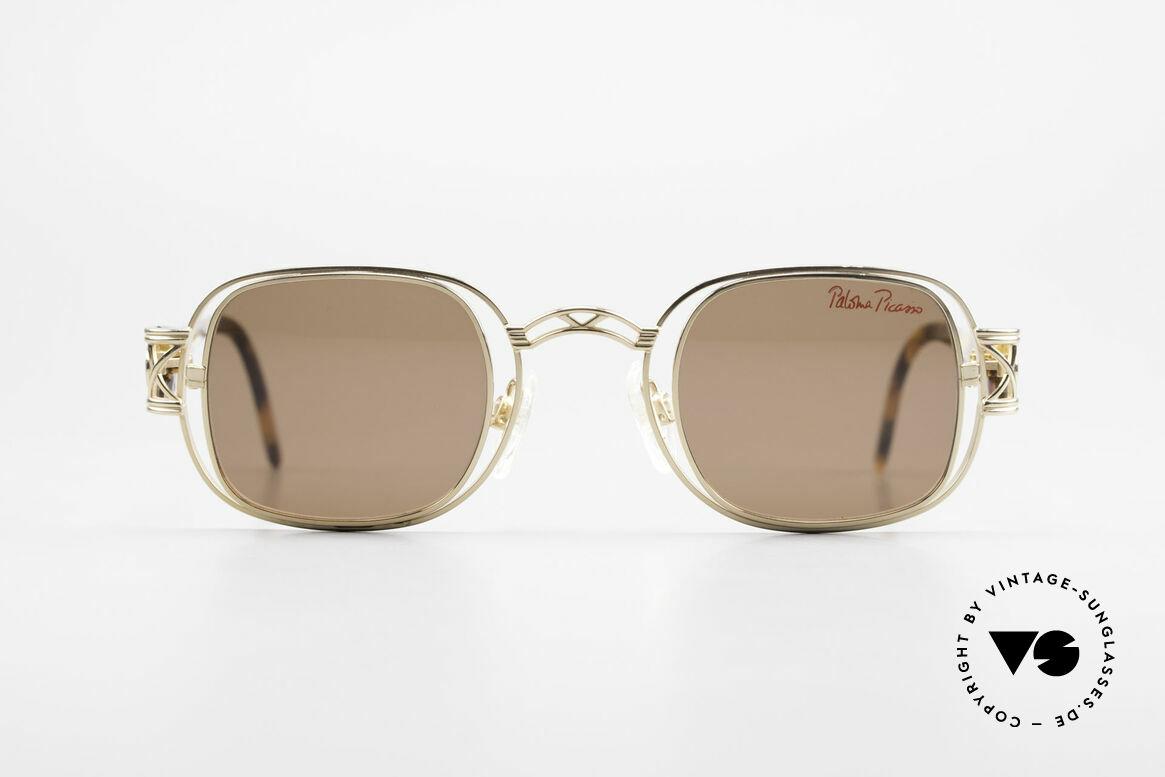 Paloma Picasso 8600 90er Vintage Damenbrille, vintage Designersonnenbrille von Paloma Picasso, Passend für Damen