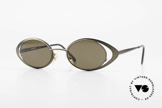 Karl Lagerfeld 4136 True Vintage Brille Oval 90er Details