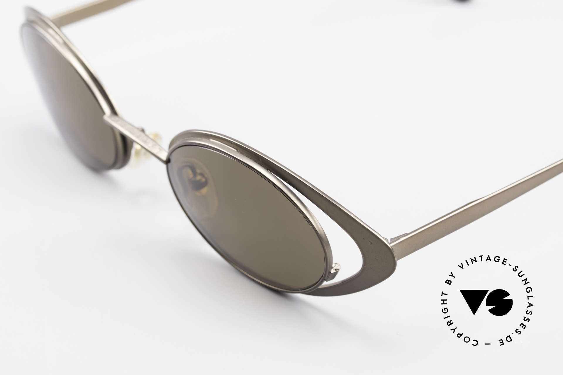Karl Lagerfeld 4136 True Vintage Brille Oval 90er, ungetragen (wie alle unsere VINTAGE Mode-Unikate), Passend für Damen