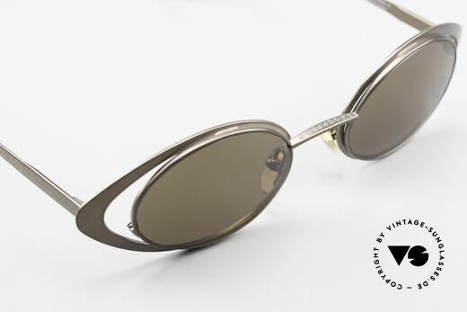 Karl Lagerfeld 4136 True Vintage Brille Oval 90er, KEINE RETRO-Brille, sondern ein seltenes ORIGINAL, Passend für Damen