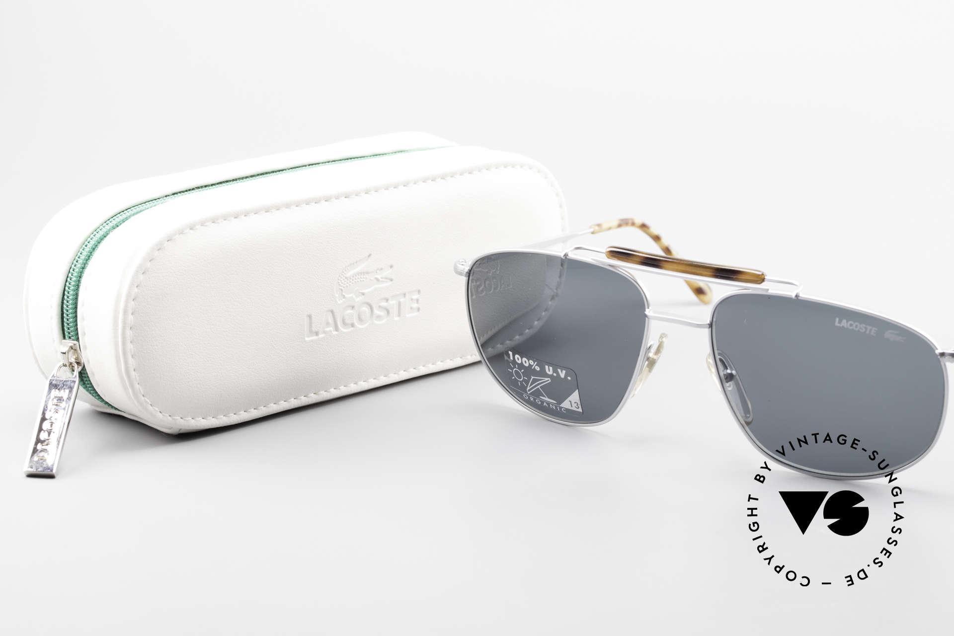 Lacoste 149 Titanium Sonnenbrille Herren, KEIN Retromodell; ein 20 J. altes ORIGINAL!, Passend für Herren