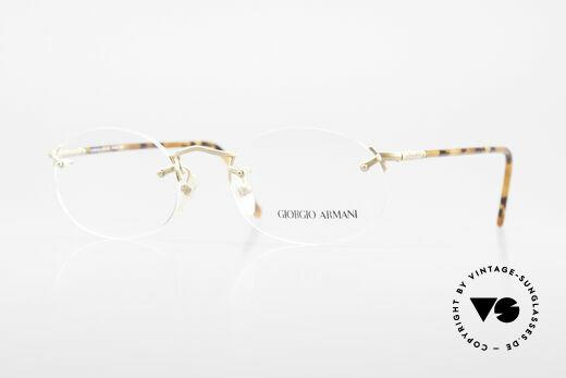 Giorgio Armani 197 Randlose Vintage Fassung Details