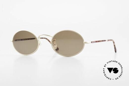 Giorgio Armani 128 Sonnenbrille Oval 90er Vintage Details