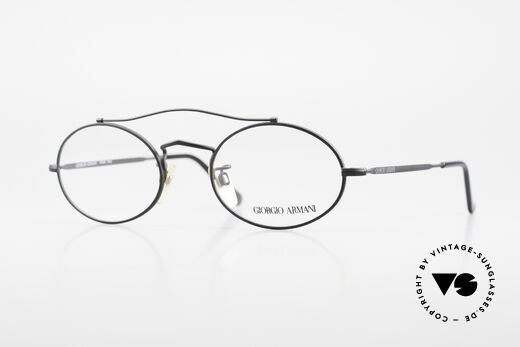 Giorgio Armani 115 90er Designer Brille Fassung Details