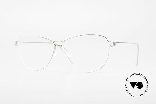 Lindberg Ditte Air Titan Rim Titanium Brille Damen Aviator Details