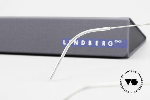 Lindberg Ditte Air Titan Rim Titanium Brille Damen Aviator, Größe: medium, Passend für Damen