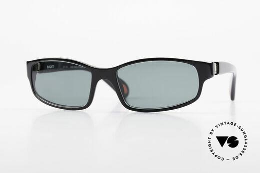 Bugatti 323 Odotype Rare Designer Sonnenbrille Details