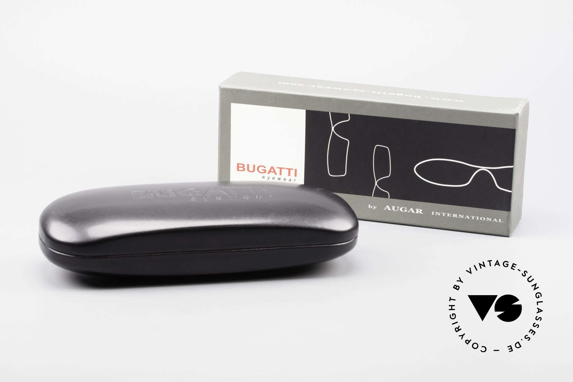 Bugatti 353 Odotype Eckige Vintage Luxus Brille, Größe: large, Passend für Herren