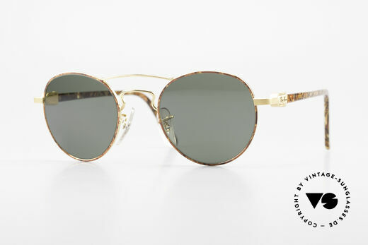 Ray Ban Chaos Round 90er B&L USA Brille W2005 Details