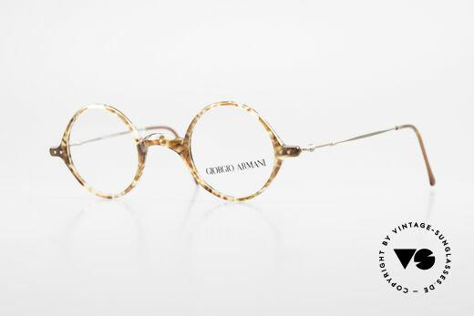 Giorgio Armani 365 Kleine Feine Runde 90er Brille Details