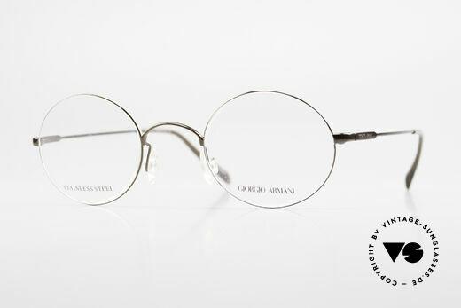 Giorgio Armani 348 Runde 90er Vintage Fassung Details