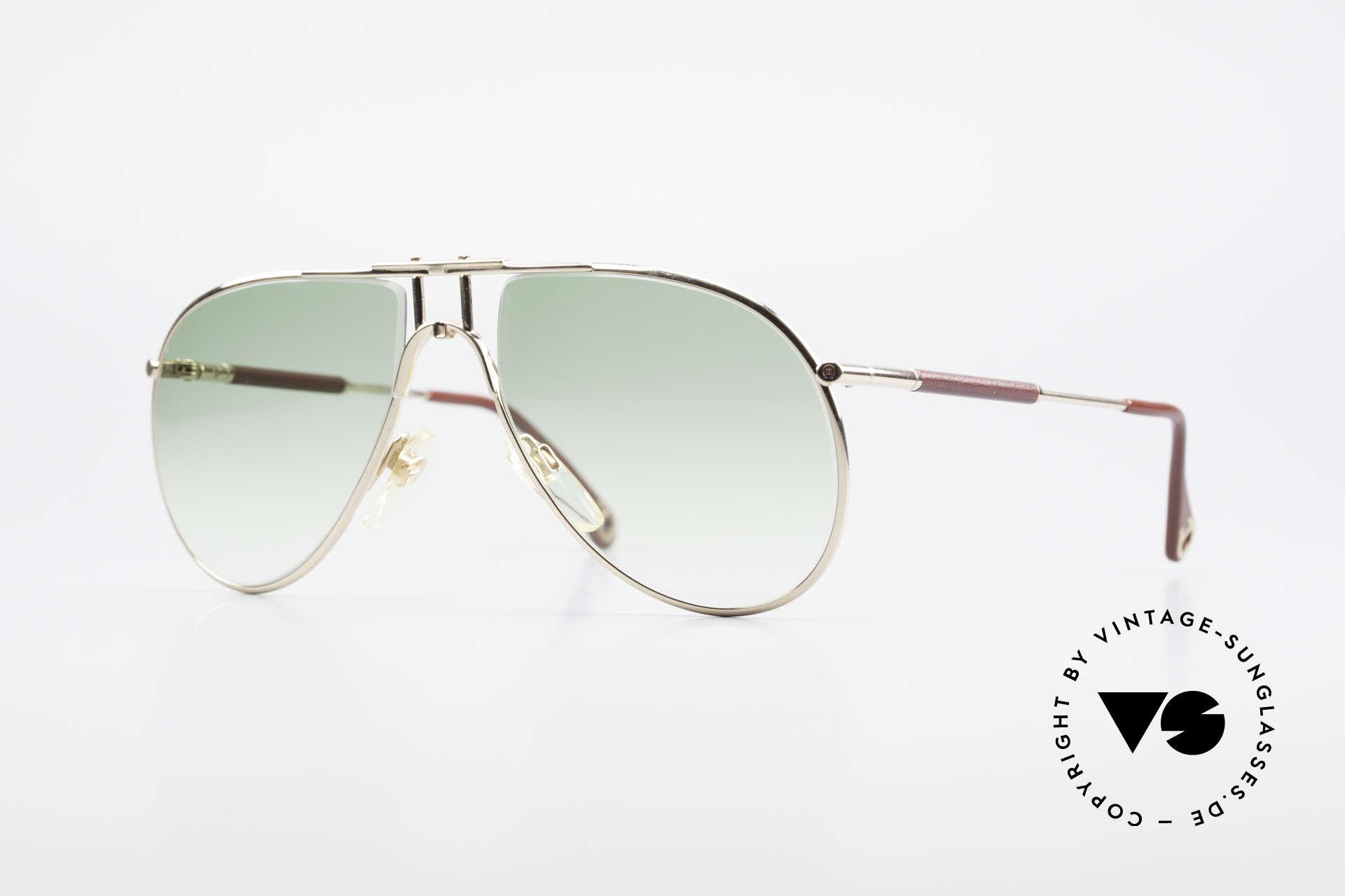 Aigner EA3 Echt 80er Vintage Sonnenbrille, Etienne Aigner 80er VINTAGE Designer-Sonnenbrille, Passend für Herren