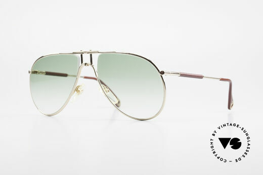 Aigner EA3 Echt 80er Vintage Sonnenbrille Details