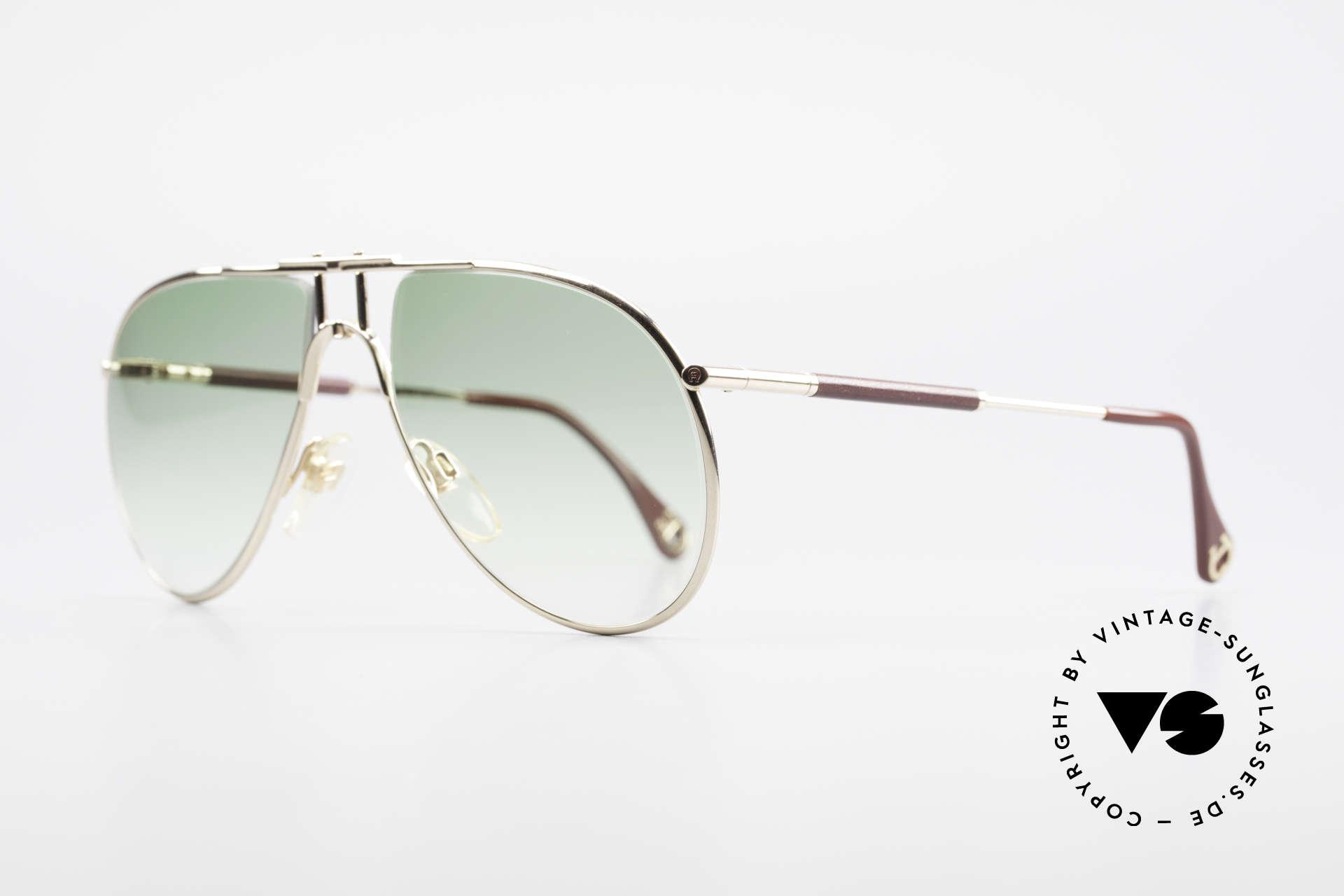 Aigner EA3 Echt 80er Vintage Sonnenbrille, wahre Gentleman-Sonnenbrille; kostbar und selten!!, Passend für Herren