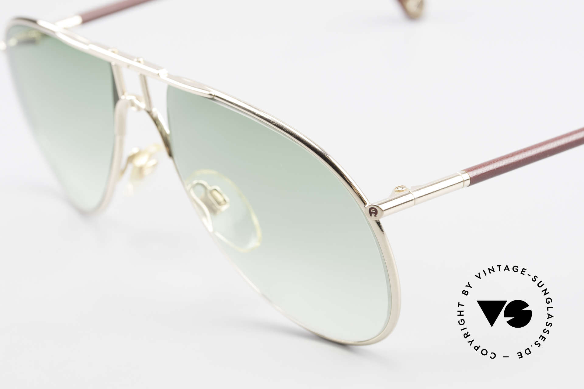 """Aigner EA3 Echt 80er Vintage Sonnenbrille, ein echtes """"Must-Have"""" für alle """"vintage Gentlemen"""", Passend für Herren"""