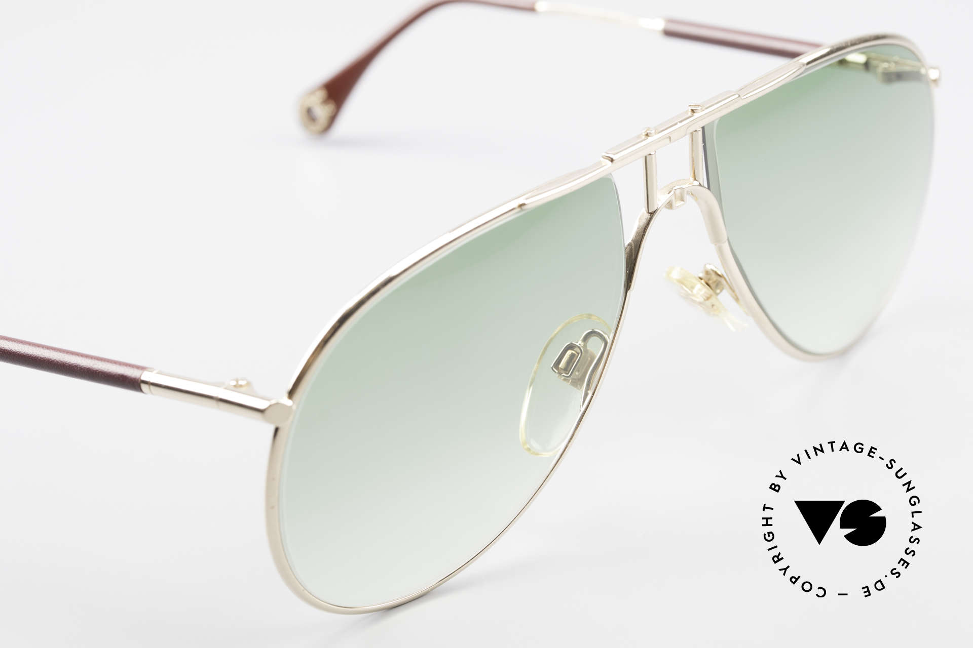 Aigner EA3 Echt 80er Vintage Sonnenbrille, ungetragen (wie alle unsere seltenen Aigner Brillen), Passend für Herren