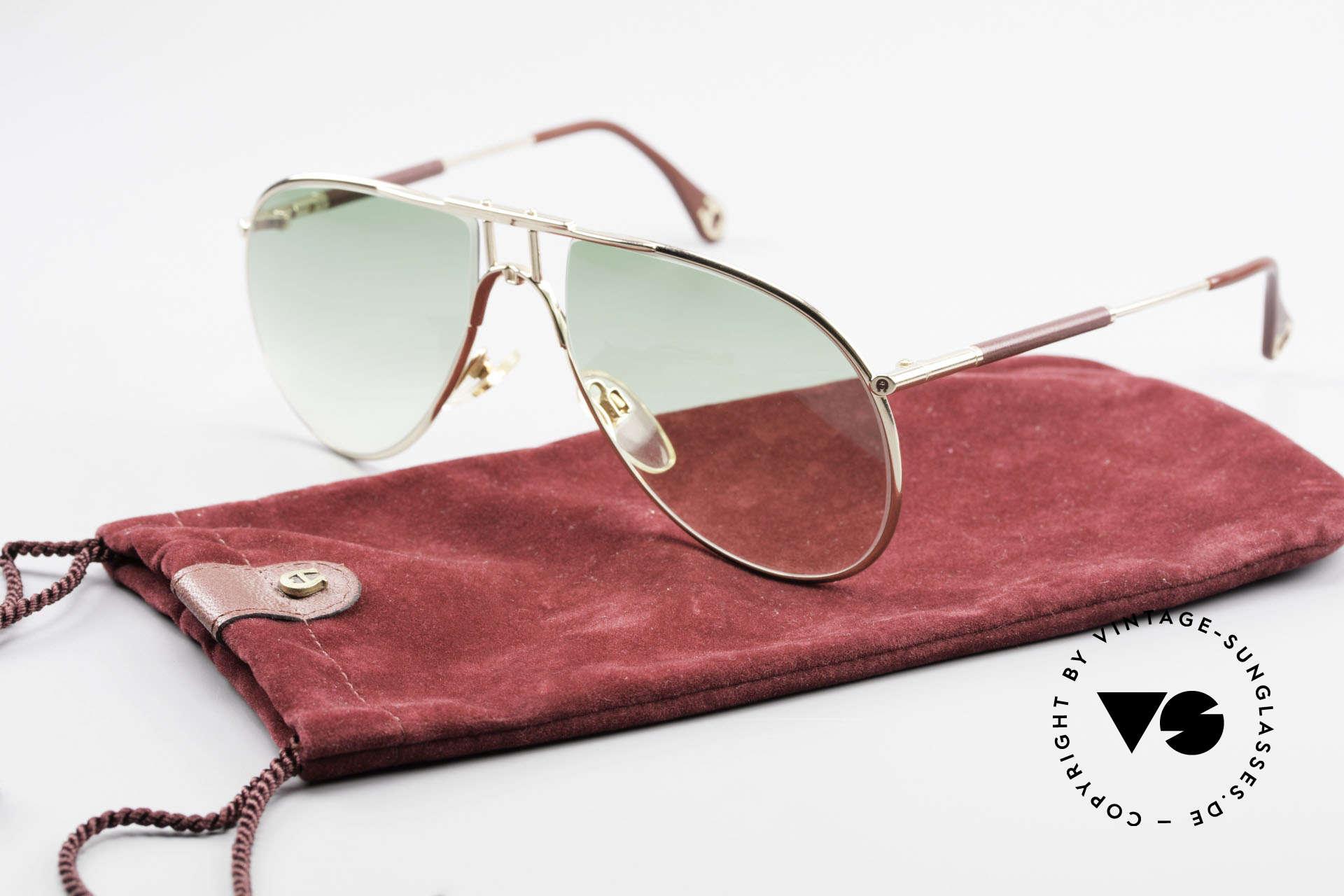 Aigner EA3 Echt 80er Vintage Sonnenbrille, Größe: medium, Passend für Herren
