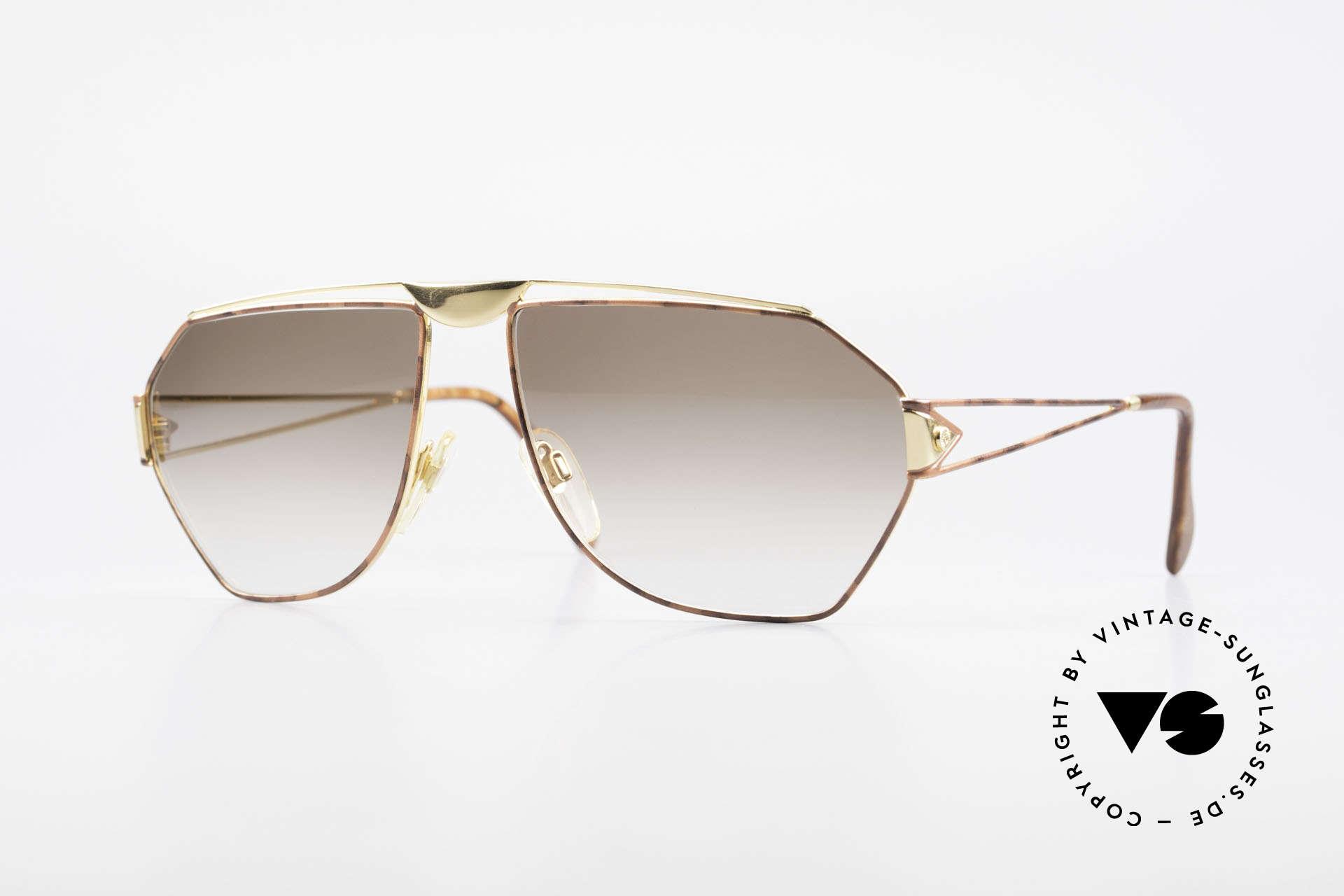 St. Moritz 403 80er Jupiter Sonnenbrille Rar, sensationelle vintage St. Moritz Designer-Sonnenbrille, Passend für Herren