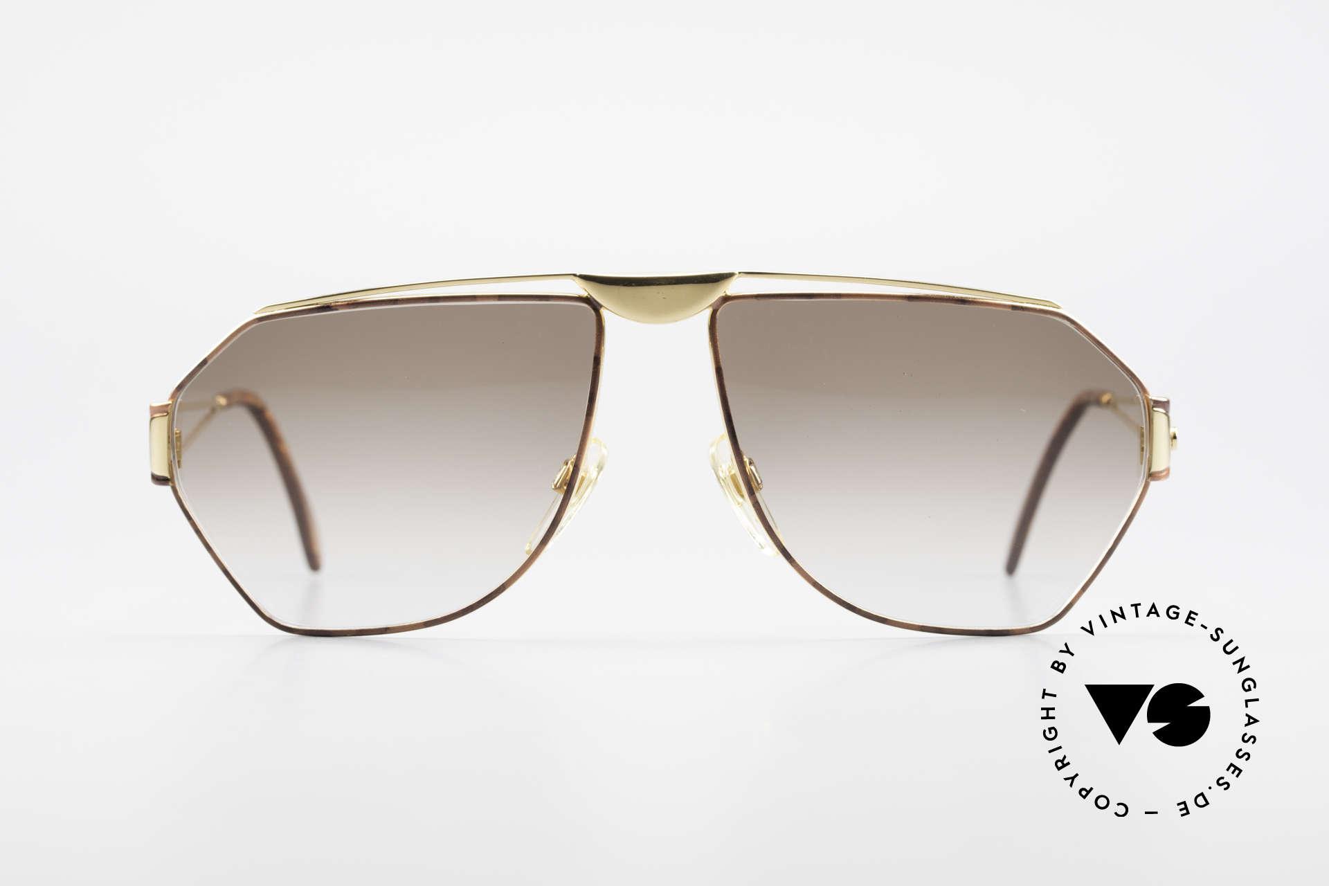 St. Moritz 403 80er Jupiter Sonnenbrille Rar, kostbares 80er Jahre Designerstück mit Jupiter Symbol, Passend für Herren