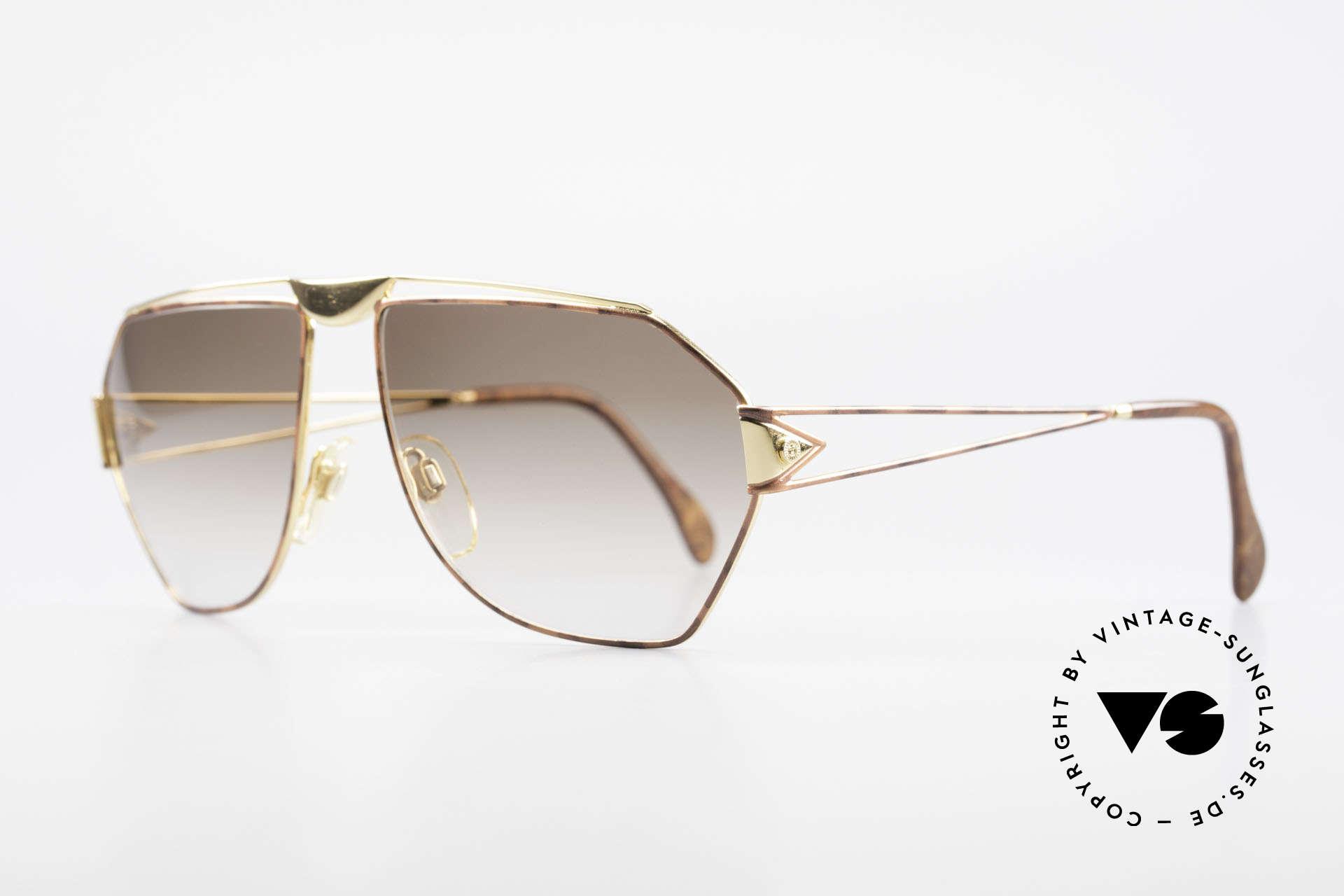 St. Moritz 403 80er Jupiter Sonnenbrille Rar, in Kleinstserie produziert: jeder Rahmen ist nummeriert, Passend für Herren