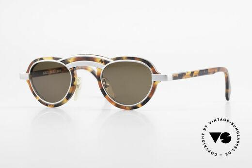 Alain Mikli 5107 / 0504 80er Designer Sonnenbrille Details