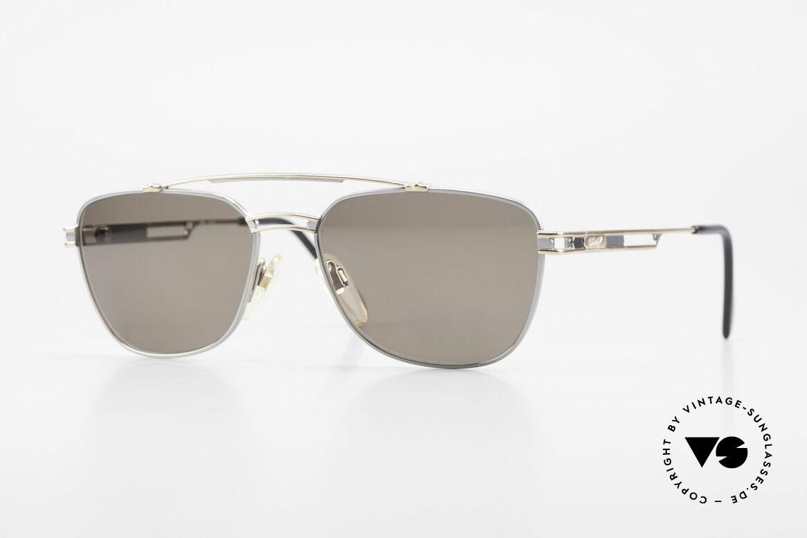 Davidoff 708 Elegante Herren Sonnenbrille, edle vintage 1990er Herren-Sonnenbrille von DAVIDOFF, Passend für Herren