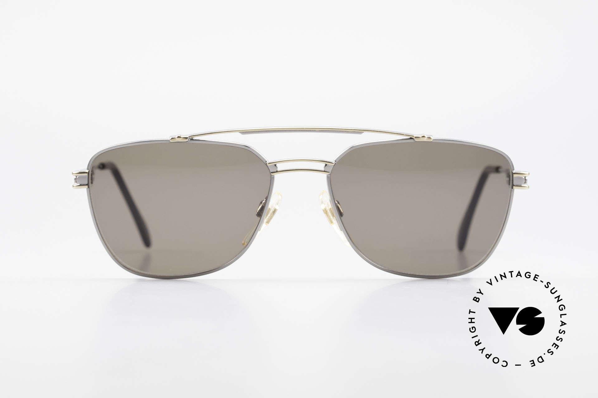 Davidoff 708 Elegante Herren Sonnenbrille, solide Verarbeitung der alten Brillenkunst, Top-Qualität, Passend für Herren