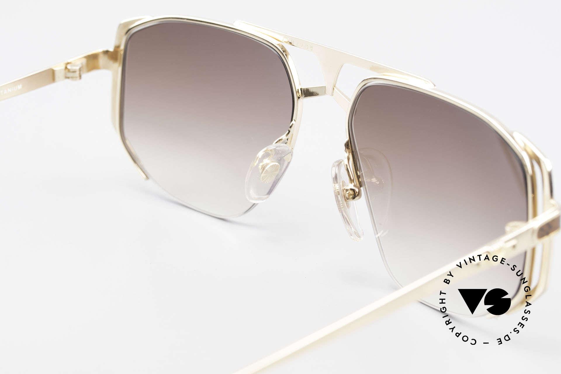 MCM München 5 Titanium Sonnenbrille Large, Größe: extra large, Passend für Herren