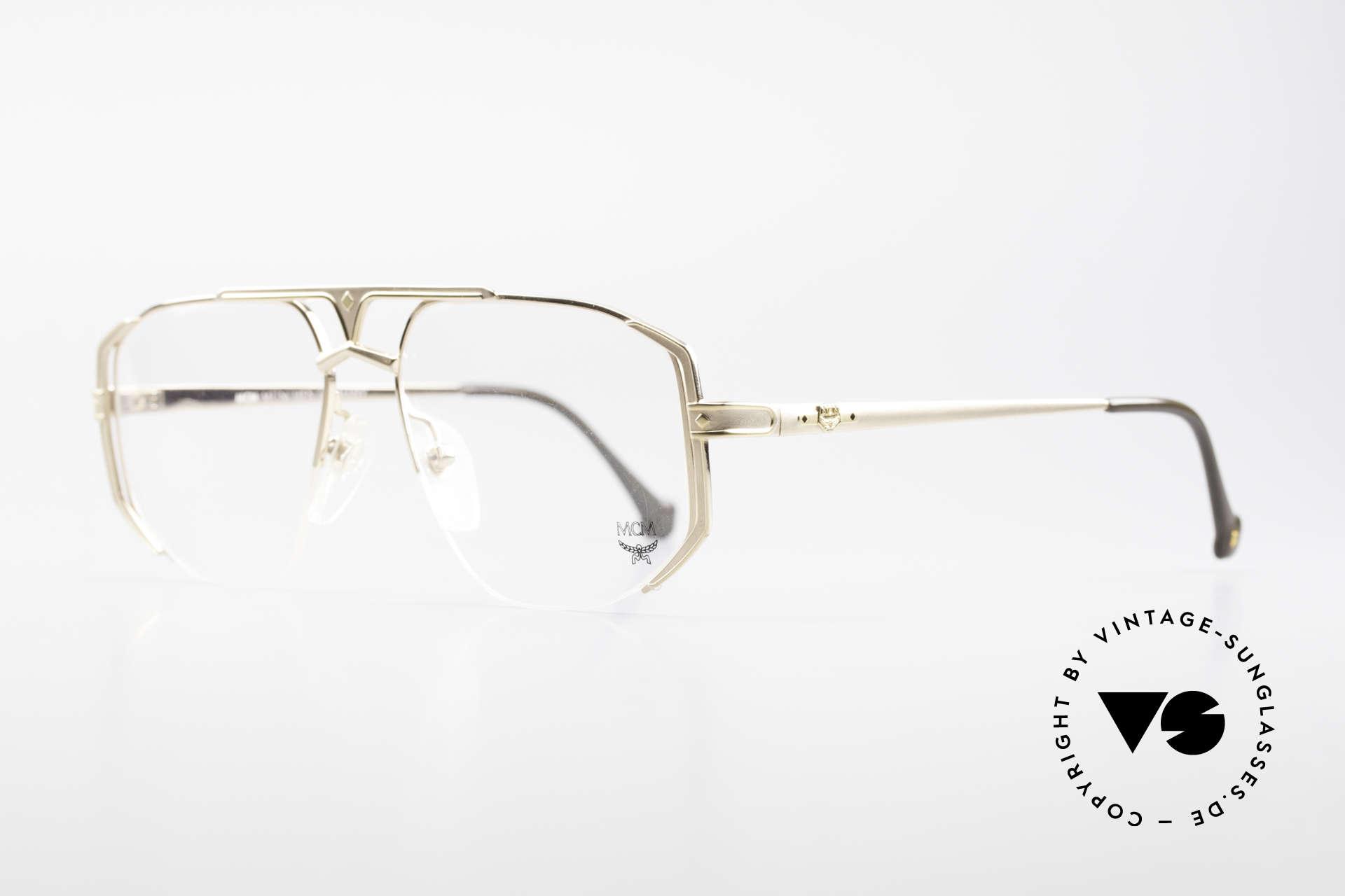 MCM München 5 Rare Titanium Fassung Large, Luxusbrille + Etui von Michael Cromer, München, Passend für Herren