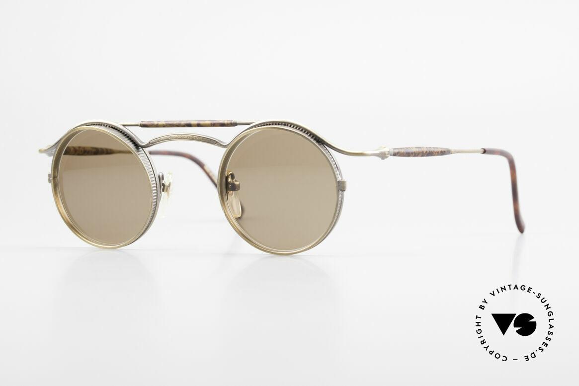 Matsuda 2903 90er Steampunk Sonnenbrille, vintage Matsuda Sonnenbrille aus den frühen 1990ern, Passend für Herren und Damen