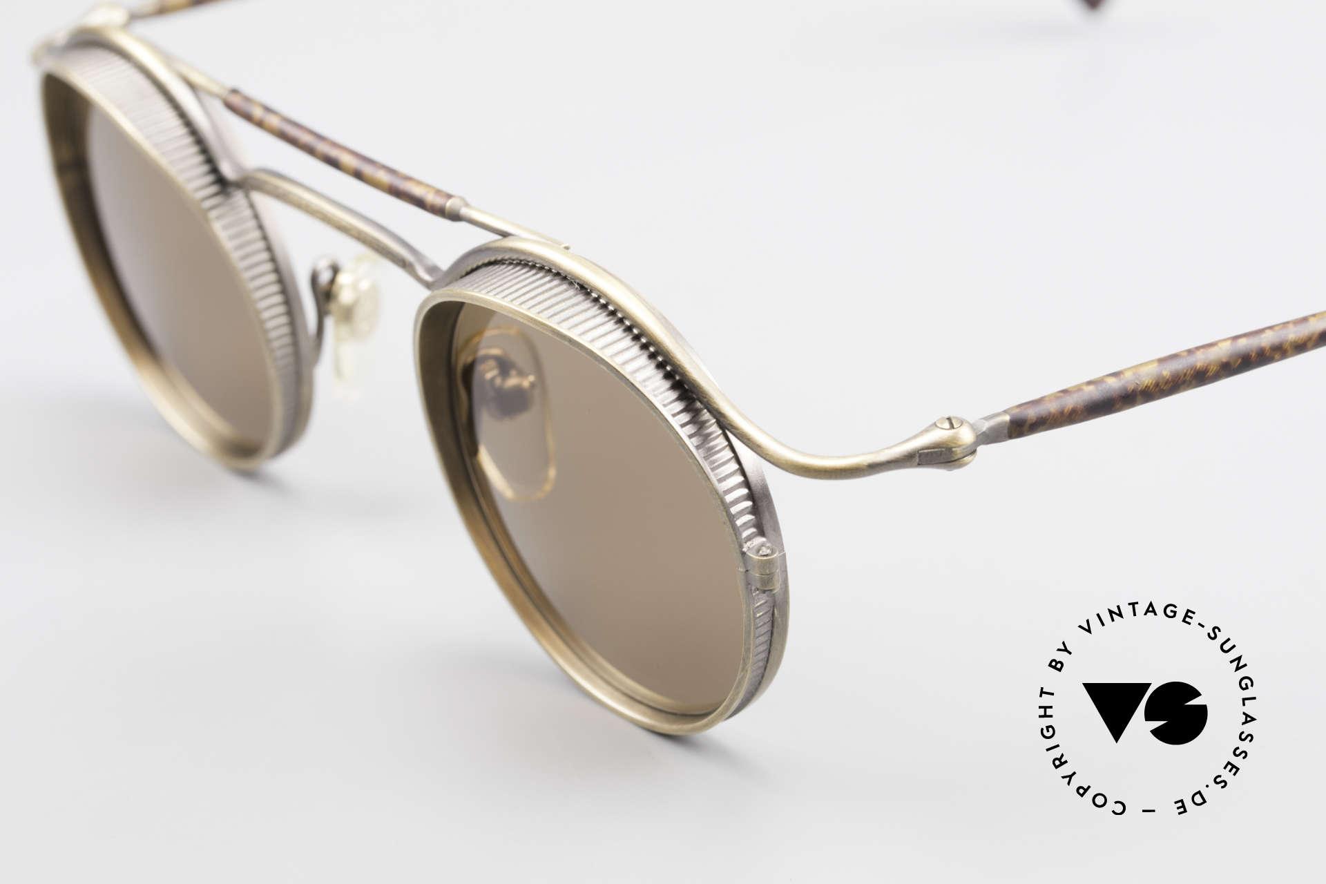 Matsuda 2903 90er Steampunk Sonnenbrille, passend dazu trug Sarah Connor eine MATSUDA Brille, Passend für Herren und Damen