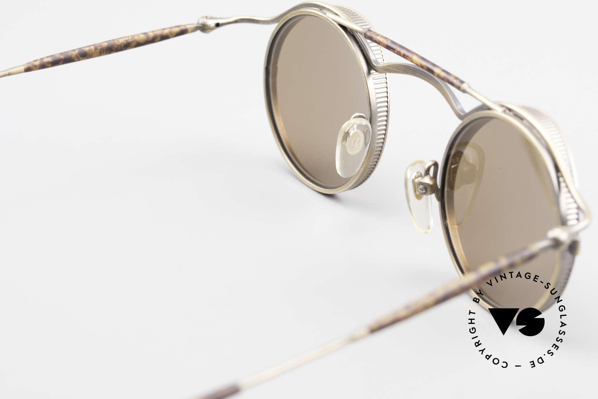 Matsuda 2903 90er Steampunk Sonnenbrille, ungetragenes 90er Einzelstück u. KEINE Reproduktion!, Passend für Herren und Damen