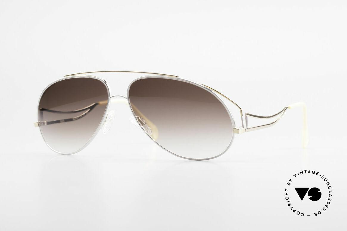 Zollitsch Radiant Industrial XL Aviator Brille, außergewöhnliche vintage Sonnenbrille von Zollitsch, Passend für Herren