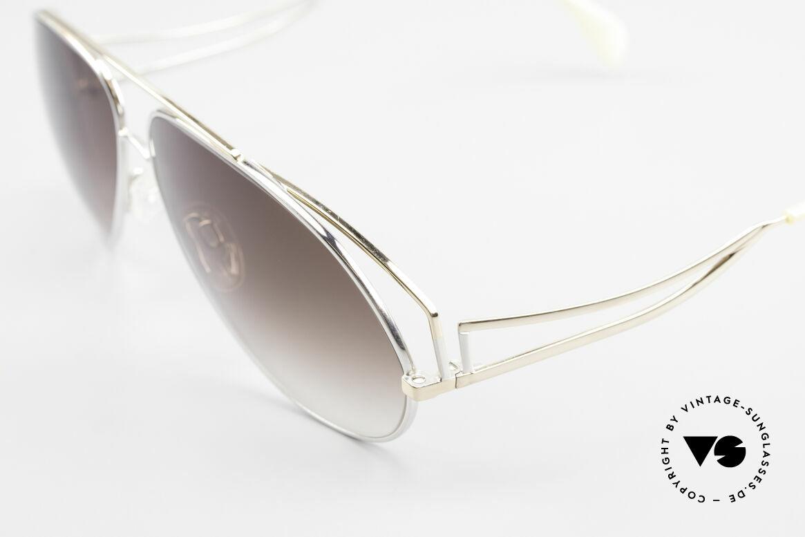 Zollitsch Radiant Industrial XL Aviator Brille, ungetragen (wie alle unsere vintage Zollitsch Brillen), Passend für Herren