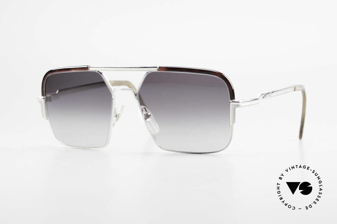 Cazal 706 70er Kombisonnenbrille 1. Serie, extrem seltene CAZAL Fassung aus den späten 1970ern, Passend für Herren