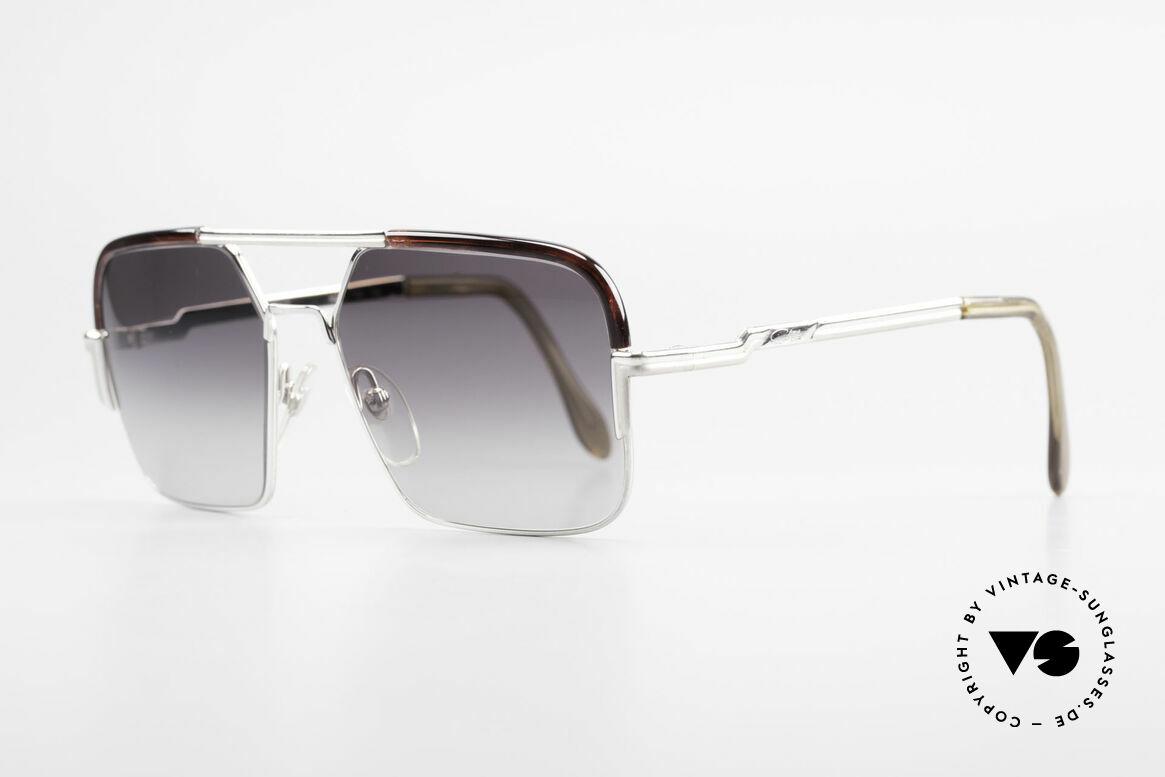 Cazal 706 70er Kombisonnenbrille 1. Serie, mit dem uralten 'Frame Germany' Aufdruck; Gr. 56/16, Passend für Herren