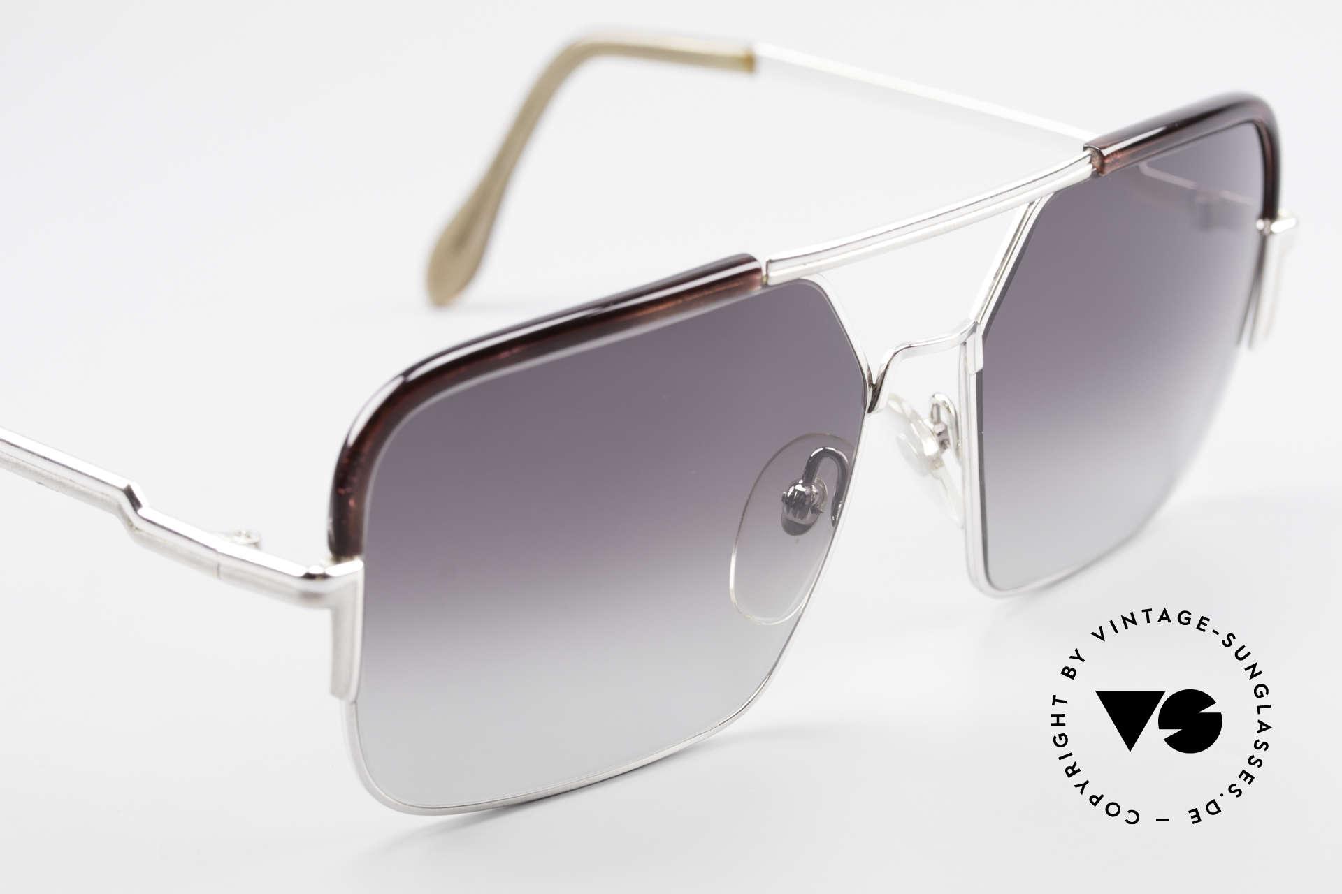 Cazal 706 70er Kombisonnenbrille 1. Serie, Kombi-Brille (Metallfassung mit Kunststoff-Oberrand), Passend für Herren