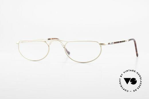 Giorgio Armani 133 Alte Designer Lesebrille 80er Details