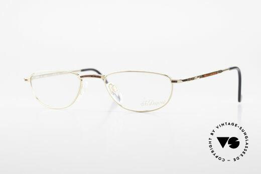 S.T. Dupont D051 Luxus Lesebrille 23KT Vergoldet Details